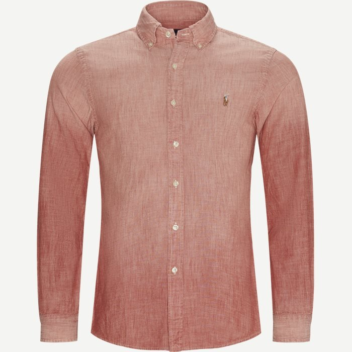 Shirts - Slim - Red