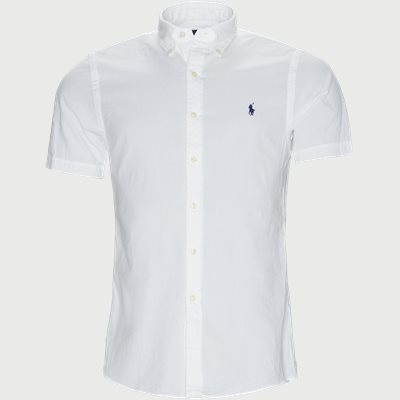 Slim | Short-sleeved shirts | White