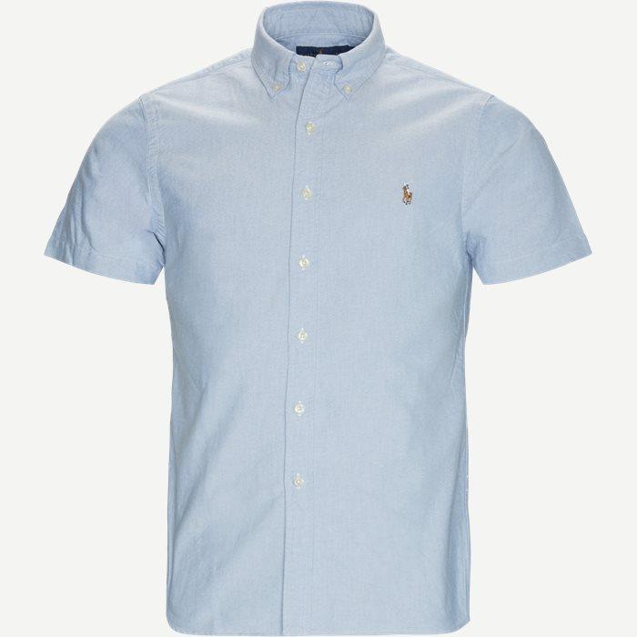 Kortärmade skjortor - Slim - Blå