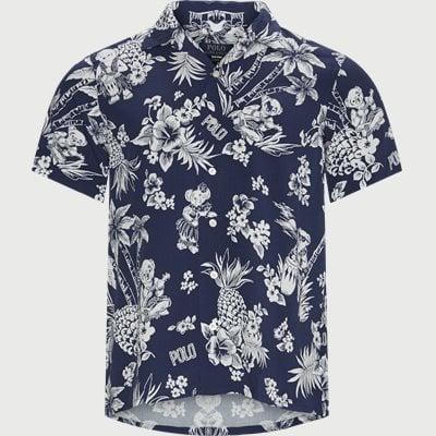 Custom fit | Kortärmade skjortor | Blå