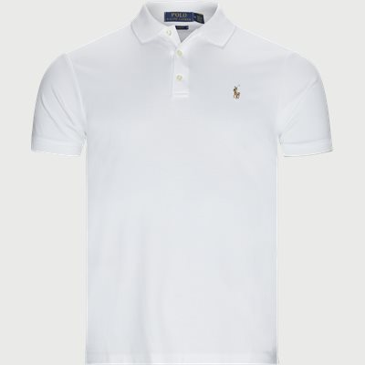 Classic Slim Fit Polo T-shirt Slim | Classic Slim Fit Polo T-shirt | Hvid