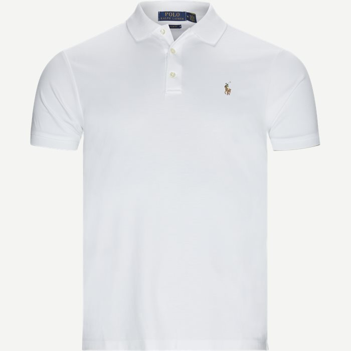 Classic Slim Fit Polo T-shirt - T-shirts - Slim - Hvid