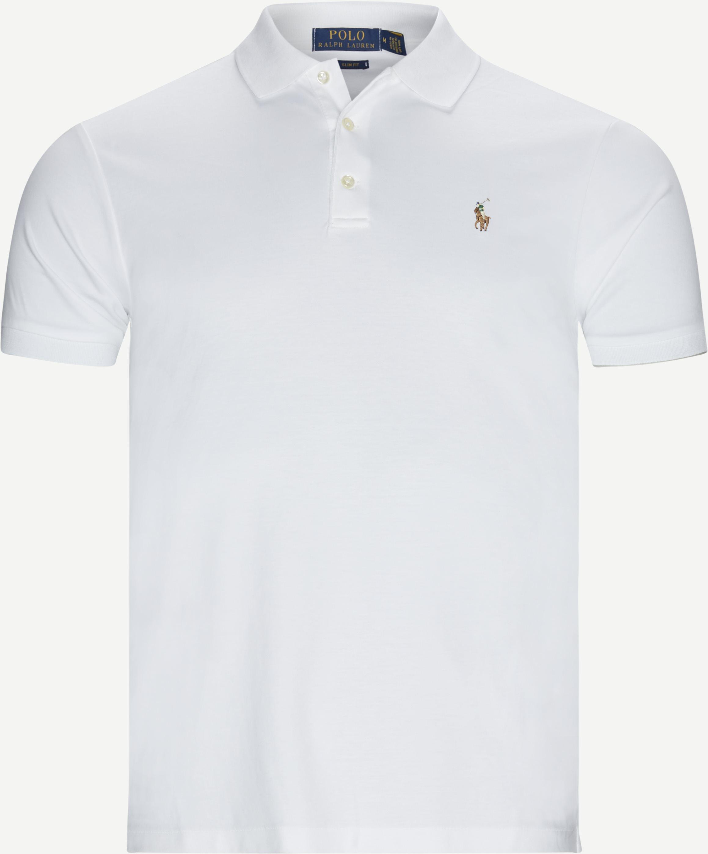 T-shirts - Slim - Vit