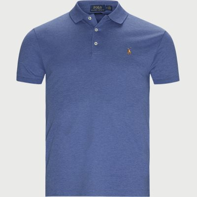 Classic Slim Fit Polo T-shirt Slim | Classic Slim Fit Polo T-shirt | Blå