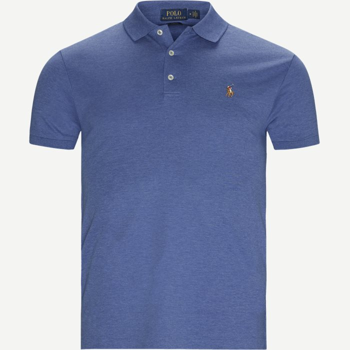 Classic Slim Fit Polo T-shirt - T-shirts - Slim - Blå