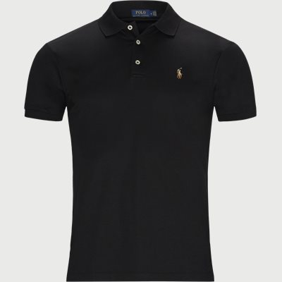 Classic Slim Fit Polo T-shirt Slim | Classic Slim Fit Polo T-shirt | Sort