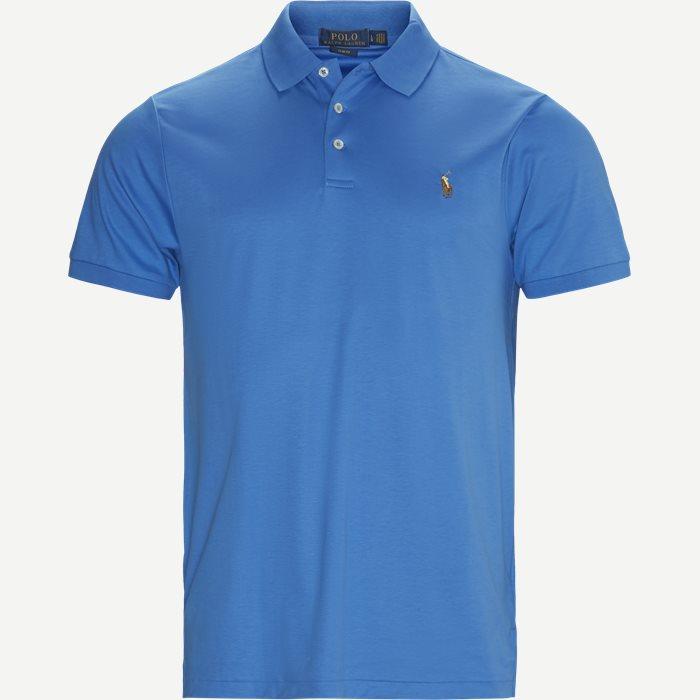 Classic Polo T-shirt - T-shirts - Slim - Blå