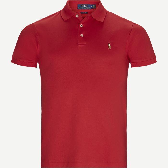 Classic Polo T-shirt - T-shirts - Slim - Rød