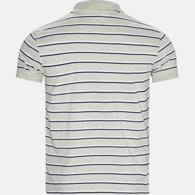 Striped Jersey Polo T-shirt