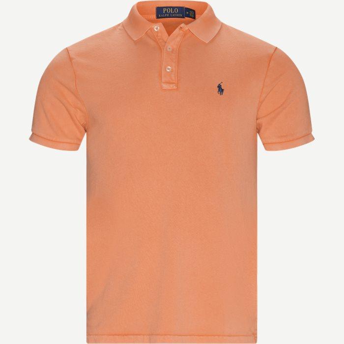 Polo T-shirt - T-shirts - Regular - Orange