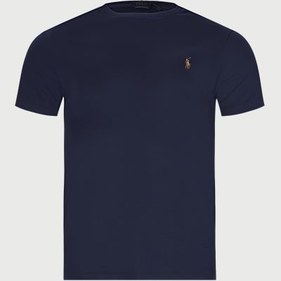 Regular slim fit | T-Shirts | Blau