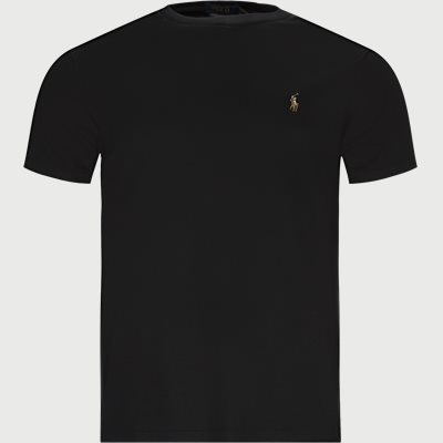 Regular slim fit | T-shirts | Black