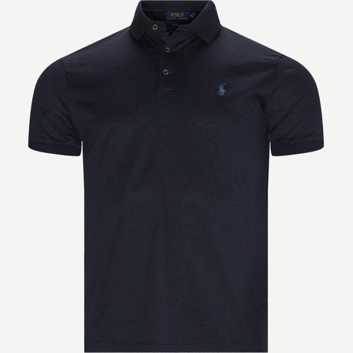 Jersey Polo - T-shirts - Regular slim fit - Blå