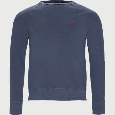 Cotton Crew Neck Sweatshirt Regular | Cotton Crew Neck Sweatshirt | Denim