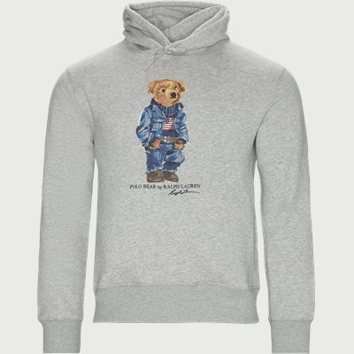 Polo Bear Fleece Hoodie Regular | Polo Bear Fleece Hoodie | Grå