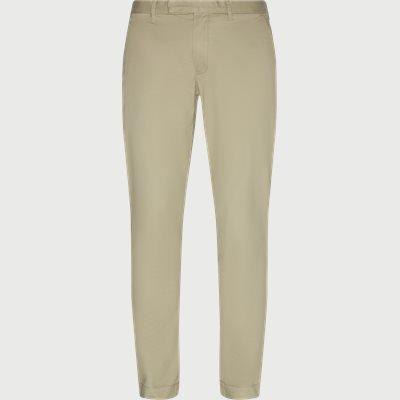 Slim | Trousers | Sand