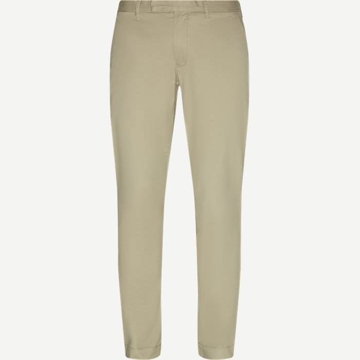 Cotton Stretch Chino - Bukser - Slim - Sand