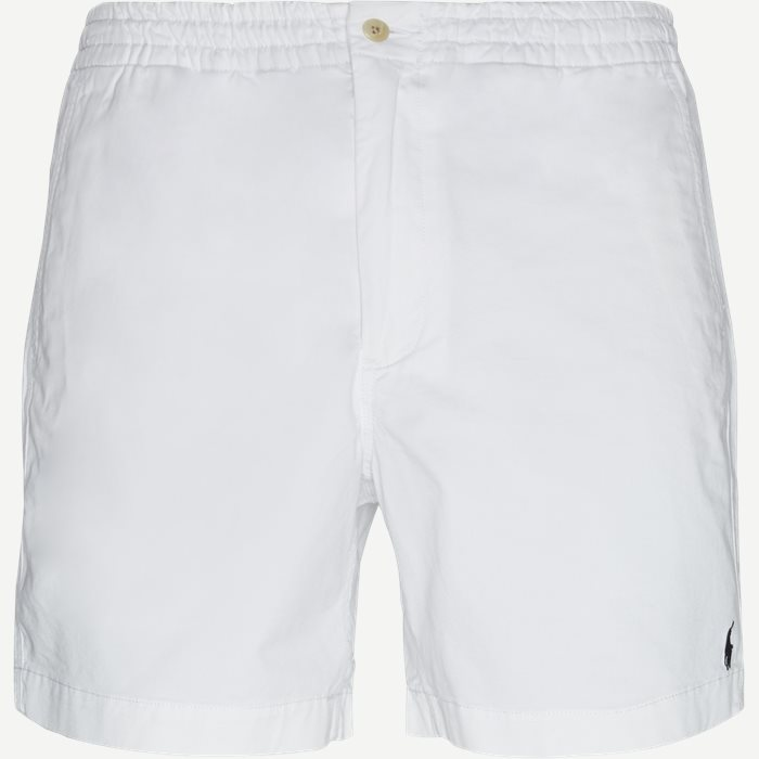 Shorts - Classic fit - Weiß