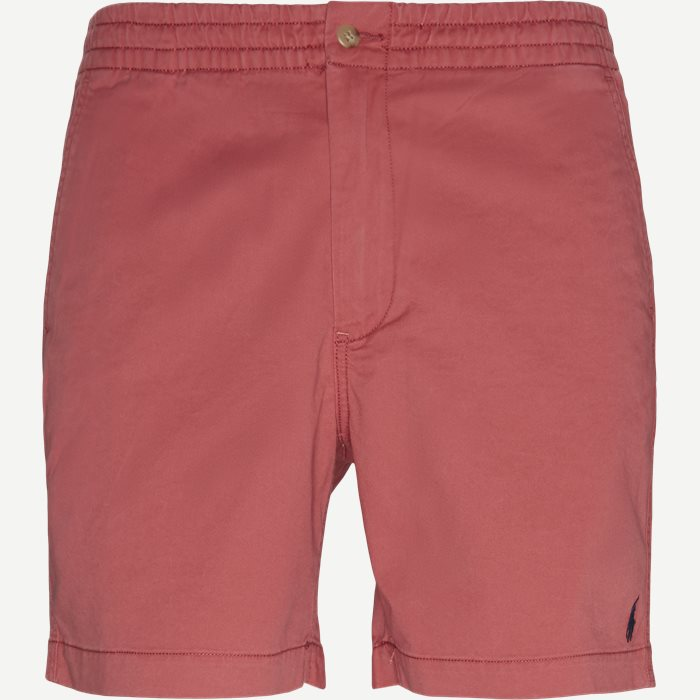 Shorts - Classic fit - Rot