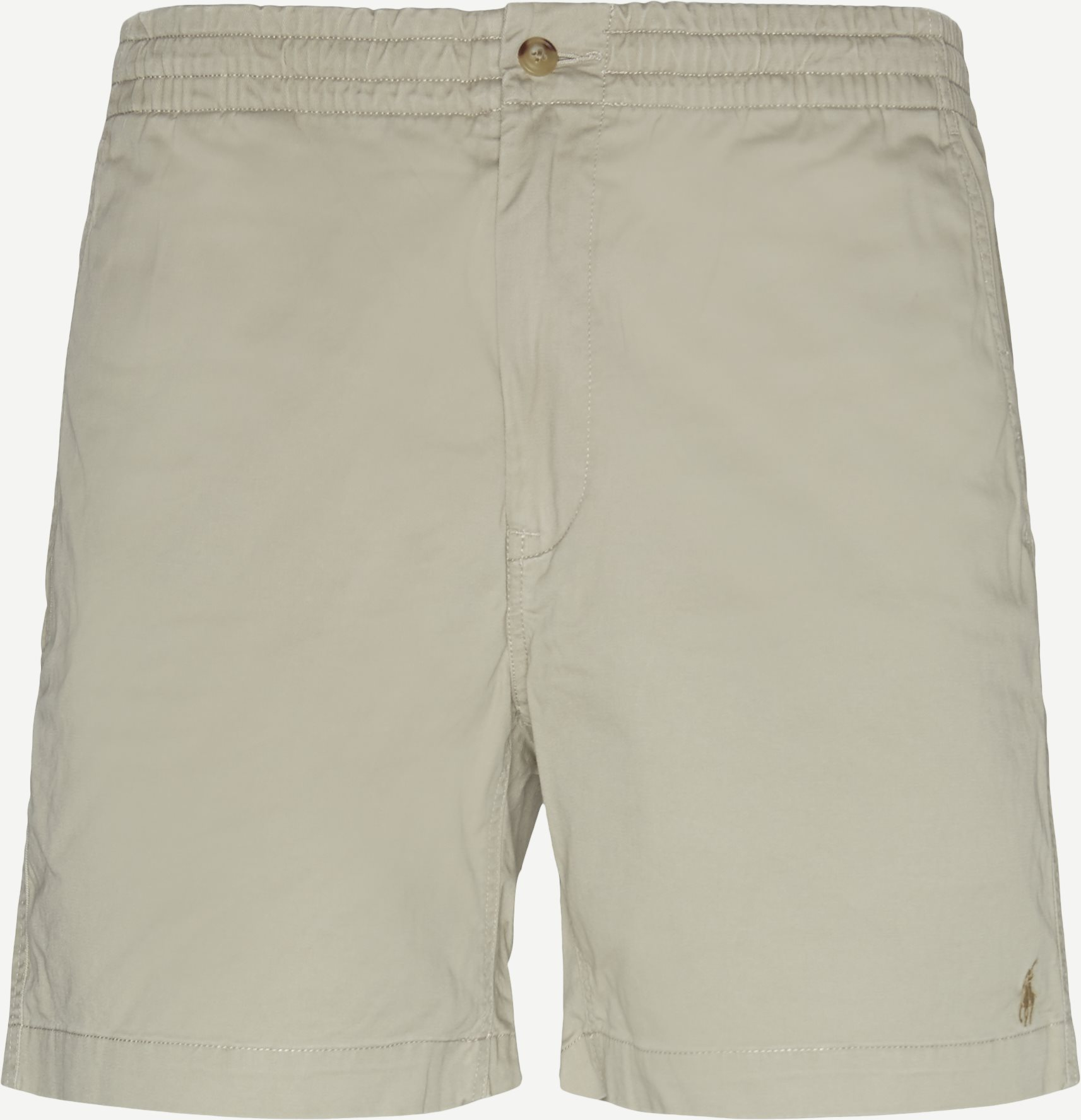 Shorts - Classic fit - Sand