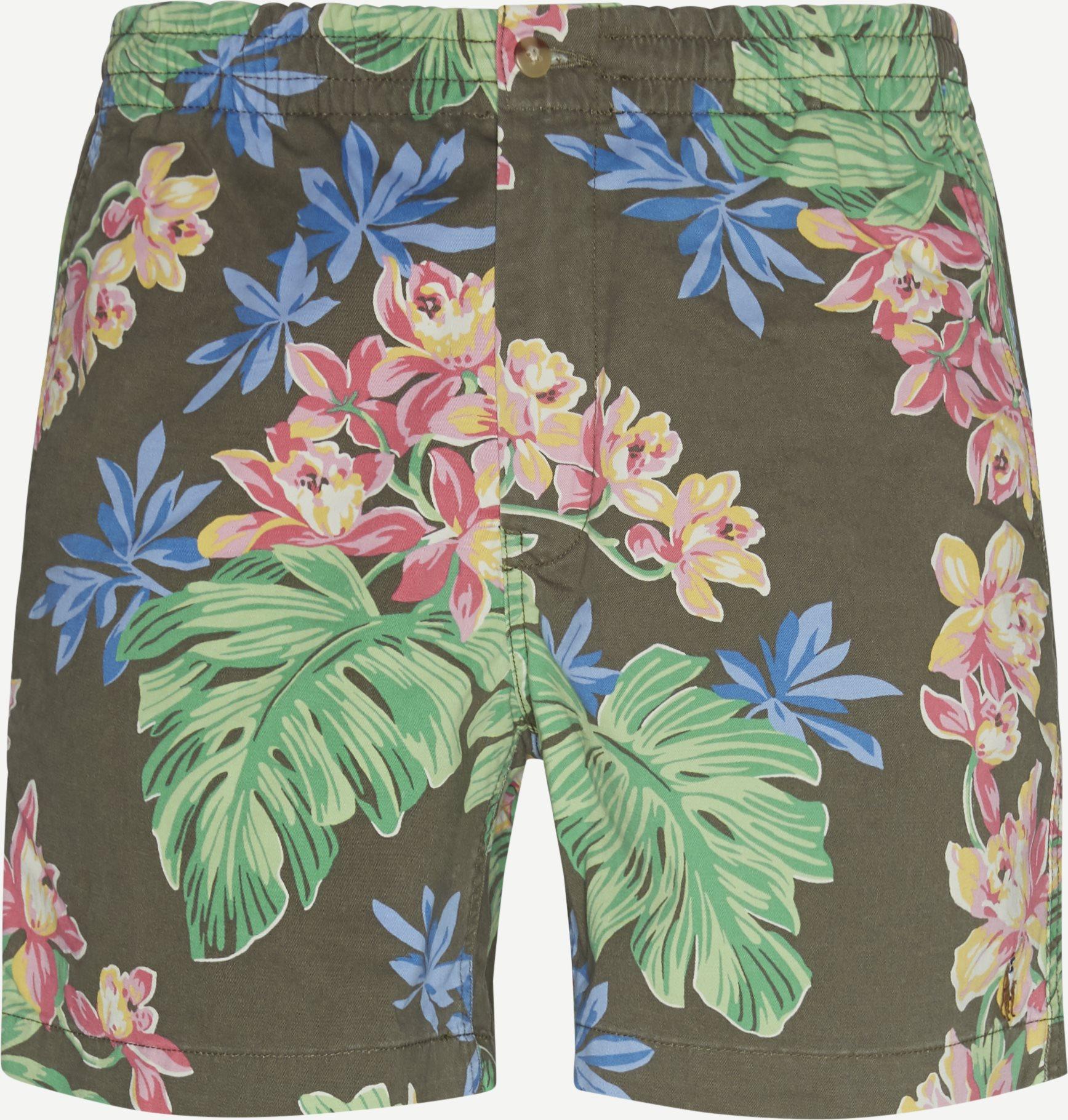 Shorts - Classic fit - Oliv