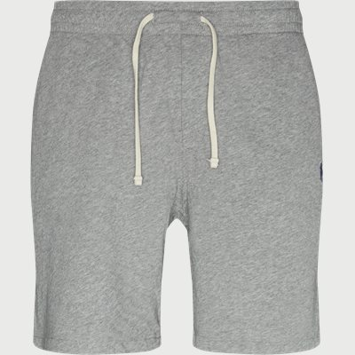 Cotton Logo Sweatshorts Regular | Cotton Logo Sweatshorts | Grå