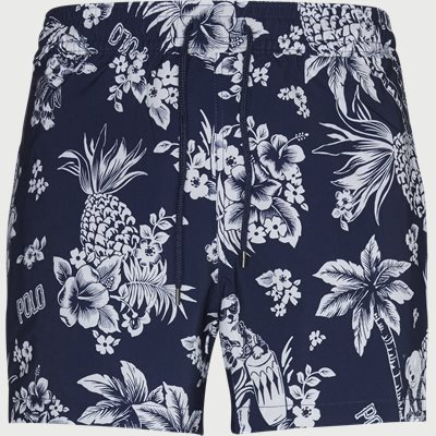 Tropical Bear Swim Shorts Slim | Tropical Bear Swim Shorts | Blå