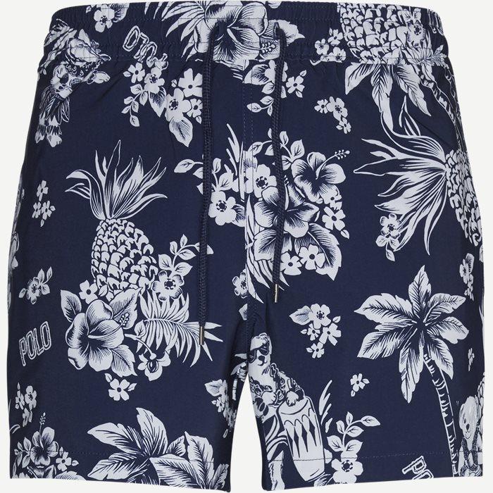 Tropical Bear Swim Shorts - Shorts - Slim - Blå