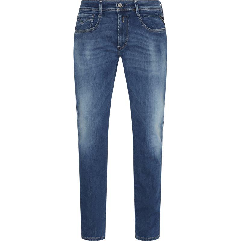 Replay - anbass hyperflex jeans fra replay fra kaufmann.dk