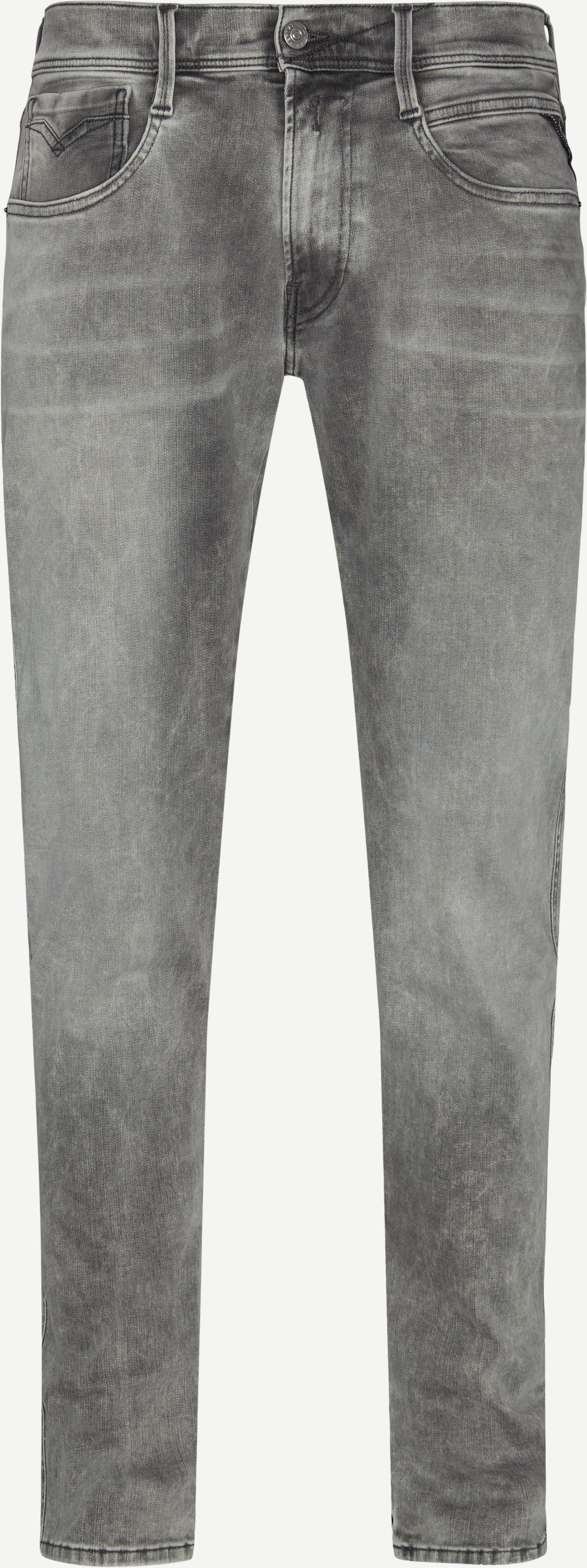 Jeans - Slim - Grå