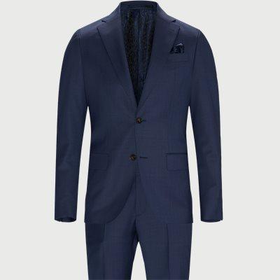 Enfärgade blazere | Blå