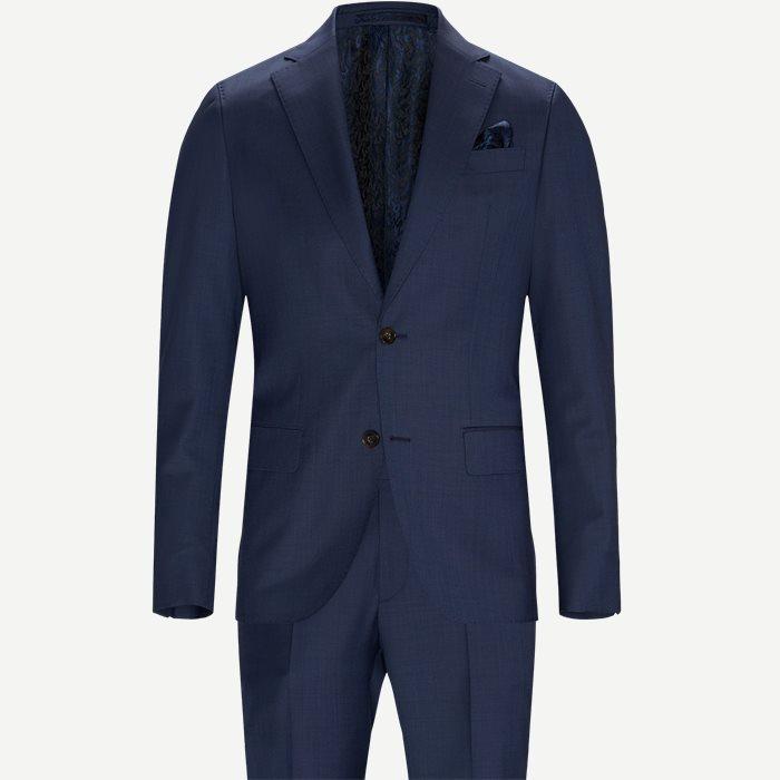 1661 Star Napoli Craig/Sherman Napoli Brandon Habit - Ensfarvede blazere - Blå