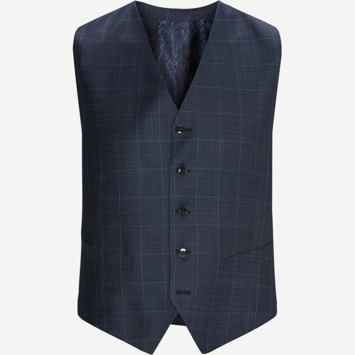 Vests - Modern fit - Blue