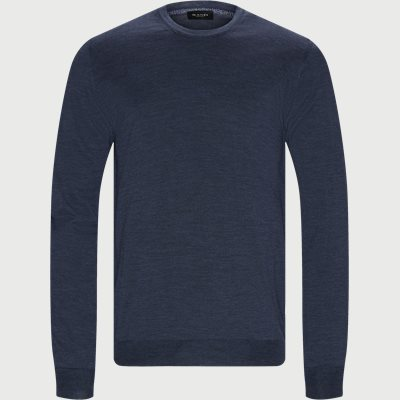 Cool Wool IQ Striktrøje Regular | Cool Wool IQ Striktrøje | Denim