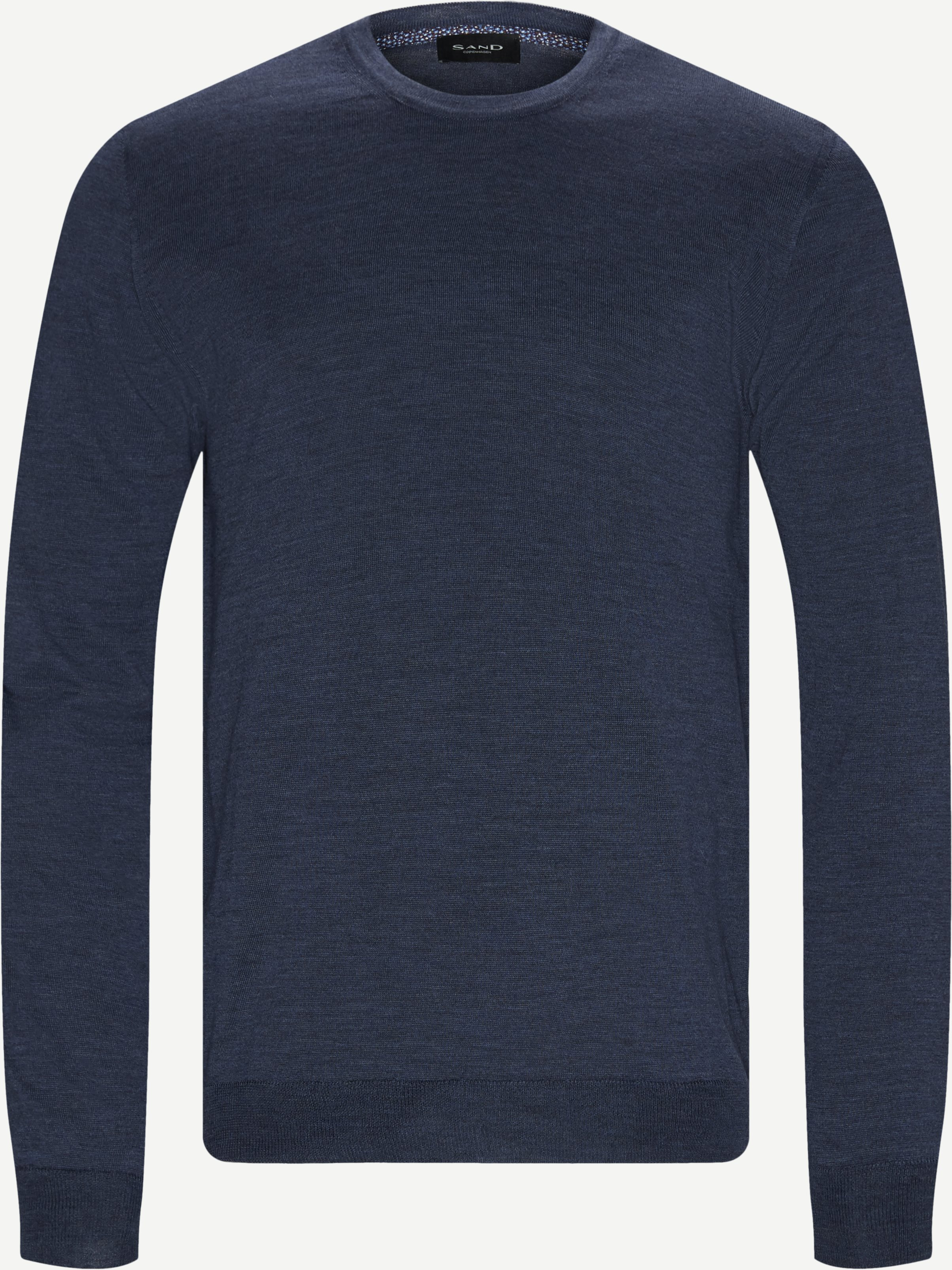 Knitwear - Regular - Denim