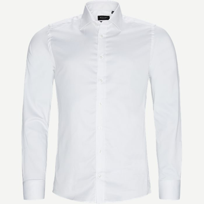8589 Stretch Iver T/Stretch State T Skjorte - Skjorter - Hvid