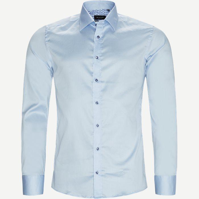 8589 Stretch Iver T/Stretch State T Skjorte - Skjorter - Blå