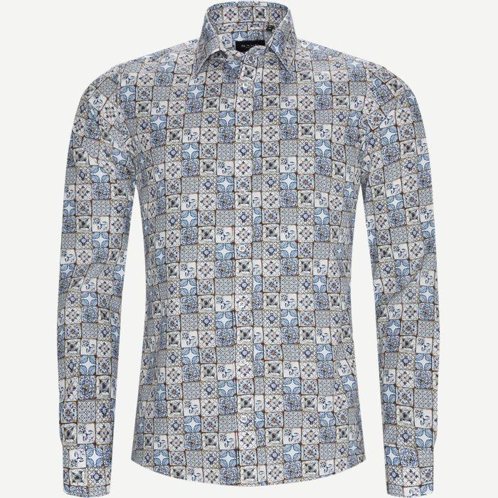 8608 Iver/State N Skjorte - Skjorter - Blå