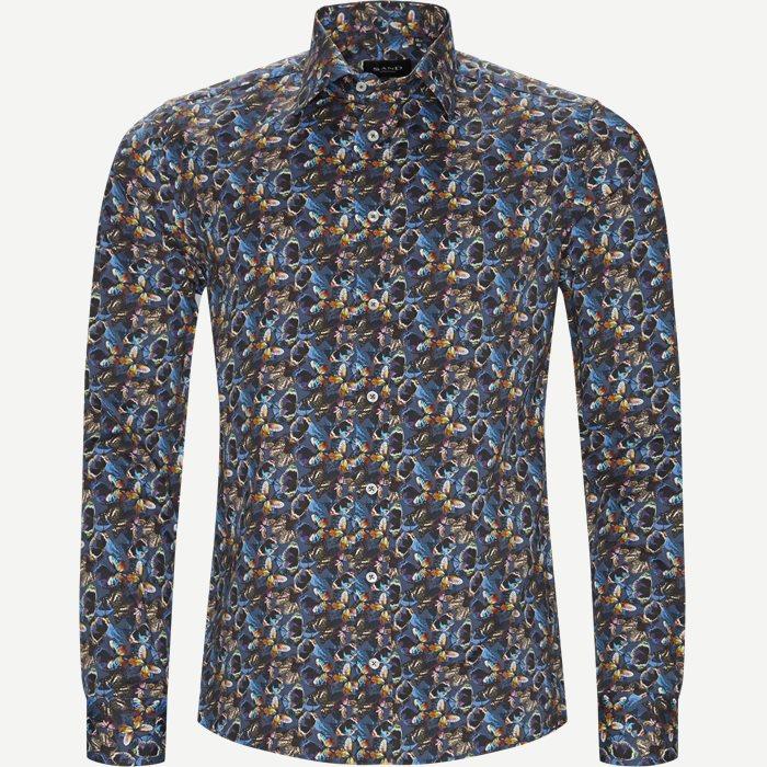 8609 Iver/State N Skjorte - Skjorter - Blå