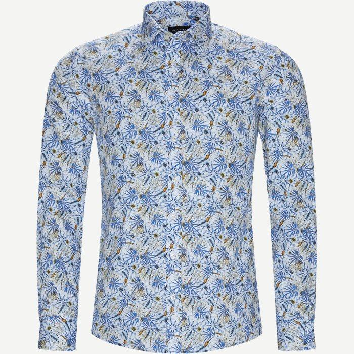 8564 Iver/State N Skjorte - Skjorter - Blå