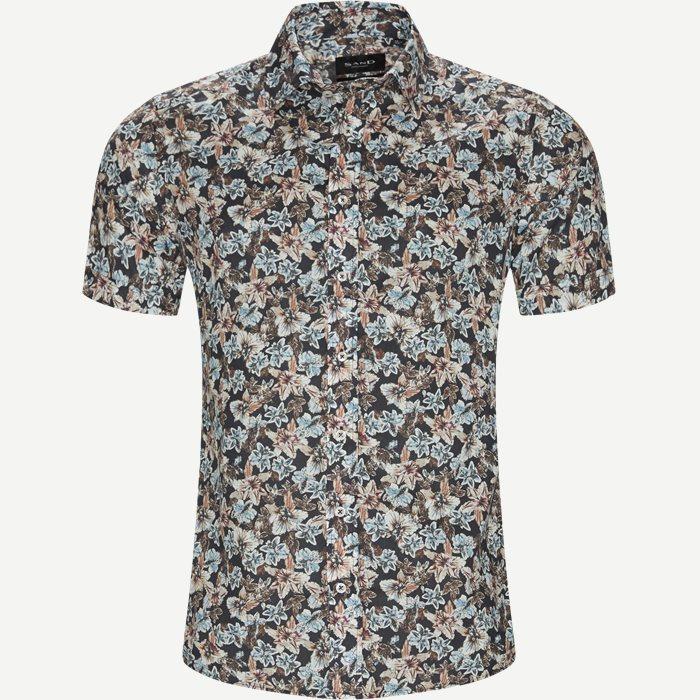 Kurzärmlige Hemden - Schwarz