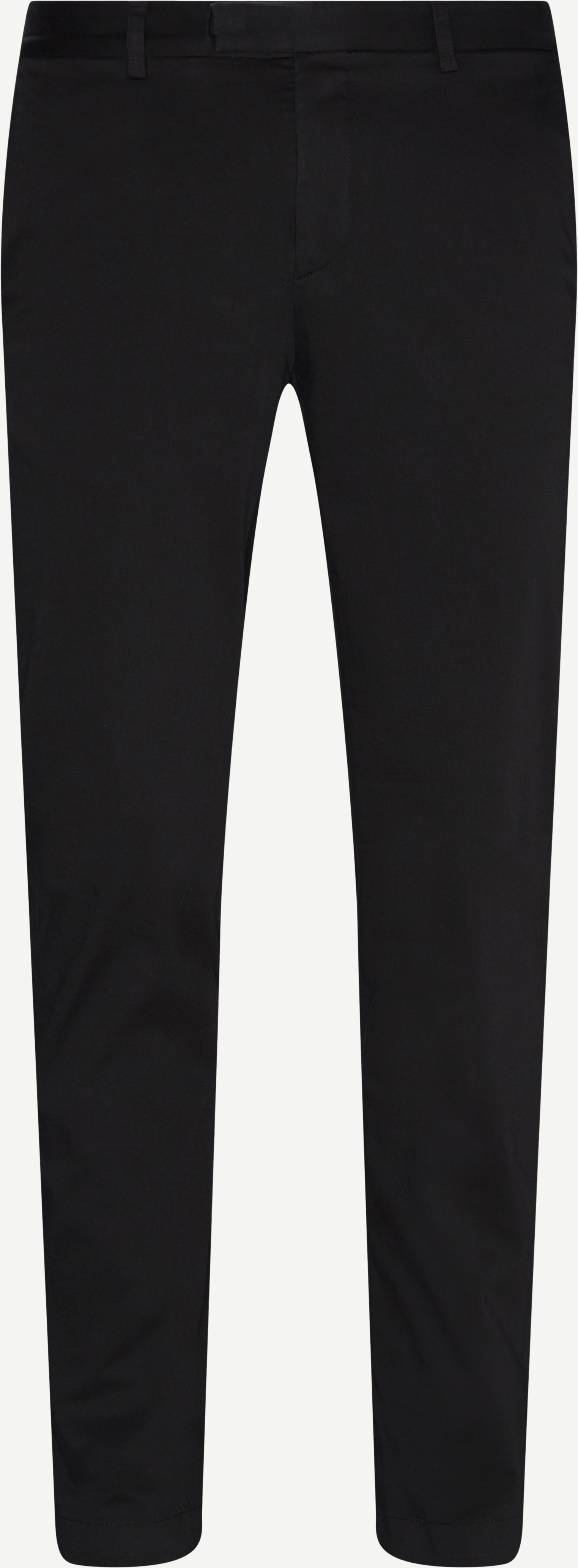 Trousers - Modern fit - Black
