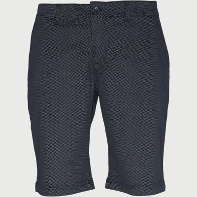 Wayne 2X Print Shorts Regular | Wayne 2X Print Shorts | Blå