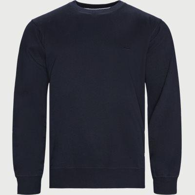 Mads Crew Sweatshirt Regular | Mads Crew Sweatshirt | Blå