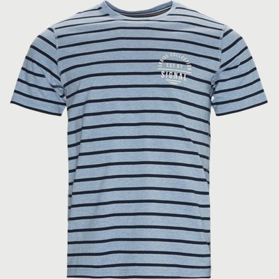 Benn CP Stripe Tee Regular | Benn CP Stripe Tee | Denim