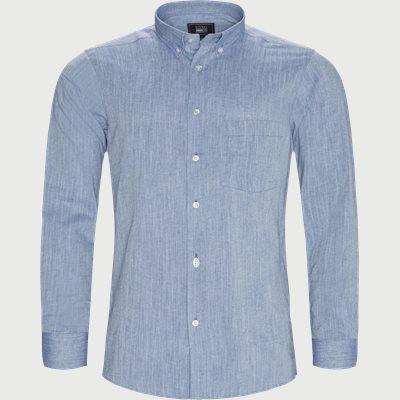 Ascot Chambray CP Skjorte Regular | Ascot Chambray CP Skjorte | Blå