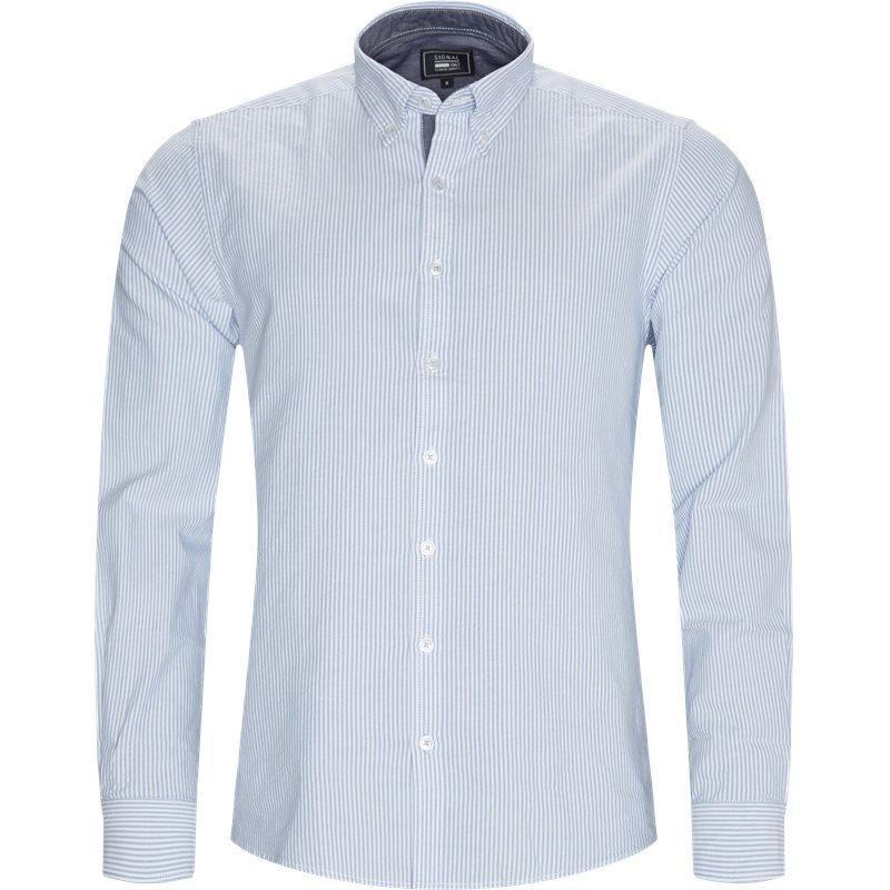 Image of   Signal - Cohen Striped Skjorte