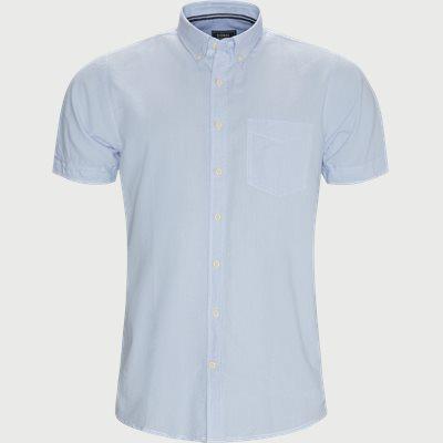 Jimmy CP Kortærmet Skjorte Regular | Jimmy CP Kortærmet Skjorte | Blå