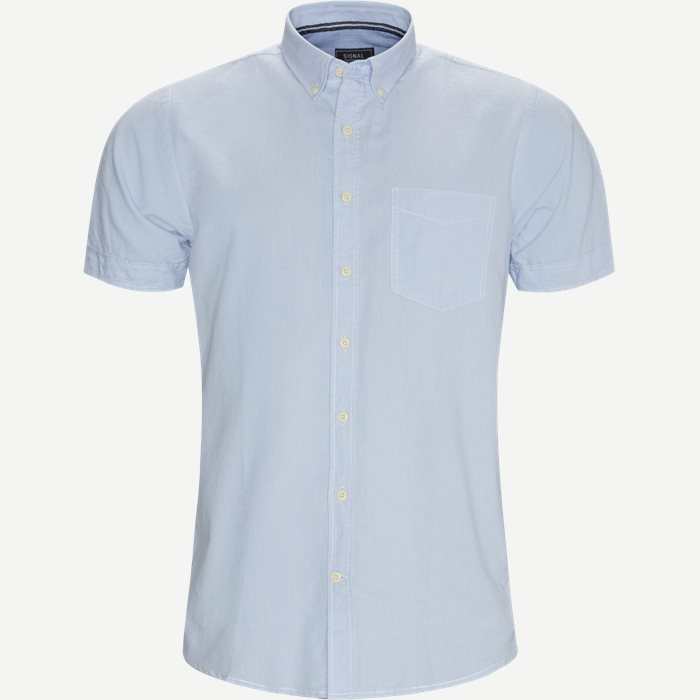 Jimmy CP Kortærmet Skjorte - Kortærmede skjorter - Regular - Blå