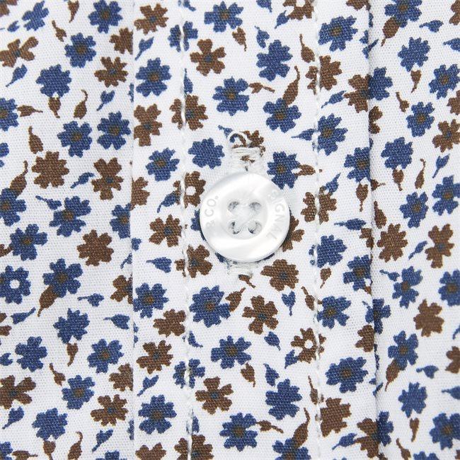 Arthur Print CP Kortærmet Skjorte